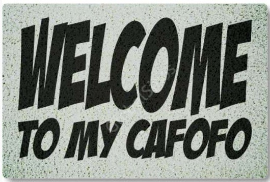 tapete capacho welcome my cafofo